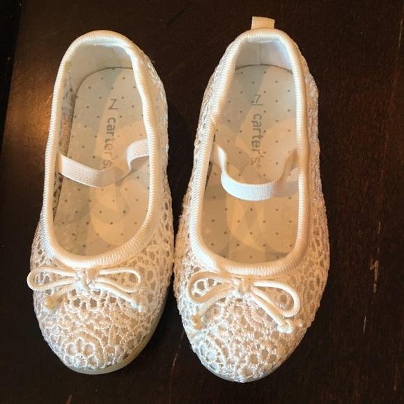 Carters Sz 7 Toddler Girl Dress Shoes
